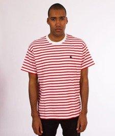 Carhartt WIP-Champ T-Shirt White/Red