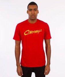 Carhartt WIP-Paint Script T-Shirt Chili/Yello