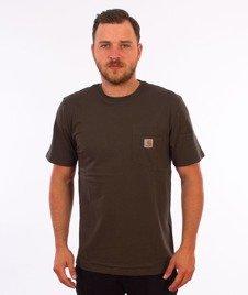 Carhartt WIP-Pocket T-Shirt Cypress