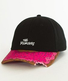 Cayler & Sons-WL Munchies Curved Snapback Black