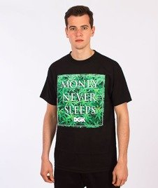 DGK-Money Field T-Shirt Czarny