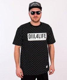 DIIL-Diil Print Life T-shirt Czarny