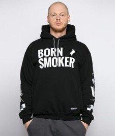 Diamante-Born Smoker Big Bluza Kaptur Czarny