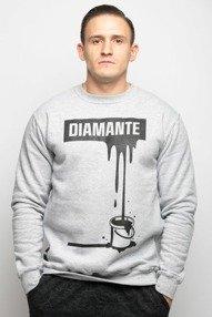 Diamante-Paint Black Bluza Szara