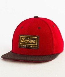 Dickies-Jamestown Snapback Czapka English Red