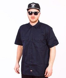 Dickies-Work Shirt Dark Navy