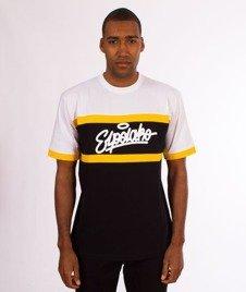 El Polako-3 Color Cut T-Shirt Czarny/Biały