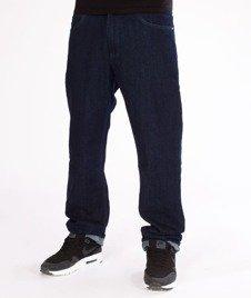 El Polako-Handwritten Slim Jeans Spodnie Dark
