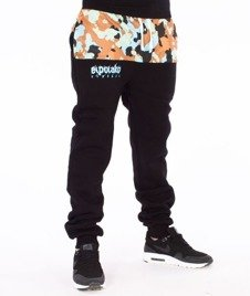 El Polako-Moro 08 Cut Fit Spodnie Dresowe Czarne