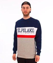 El Polako-School Bluza Granat