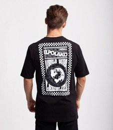 El Polako WORLD WIDE T-Shirt Czarny