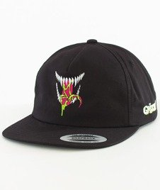 Grizzly-Venom Grin Snapback Black