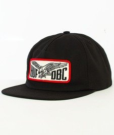 HUF-Eagle Snapback Black