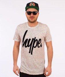 Hype-Basic Logo T-Shirt Stone Fleck