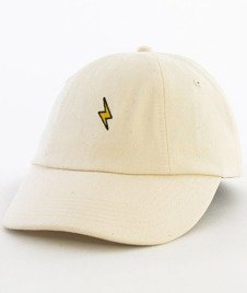 Hype-Bolt Dad Hat Czapka Z Daszkiem Cream