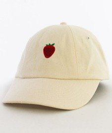 Hype-Strawberry Dad Hat Czapka Z Daszkiem Cream