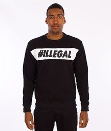 Illegal-#Illegal Line Bluza Czarna