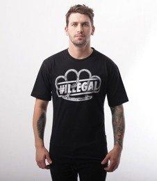 Illegal-Kastet T-Shirt Czarny