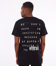 Intruz-Party T-Shirt Czarny