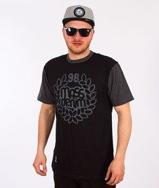 Mass-Base T-Shirt Czarny/Grafit