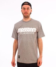 Mass-Classics T-shirt Light Heather Grey