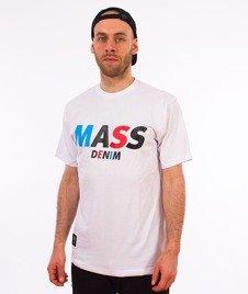 Mass-Grand T-shirt Biały