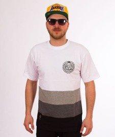 Mass-Levels T-Shirt Biały/Szary