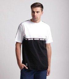 Mass Line T-Shirt Biały/Czarny