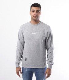 Mass-Mass- bluza Sweatshirt Crewneck Classic small logo Szara