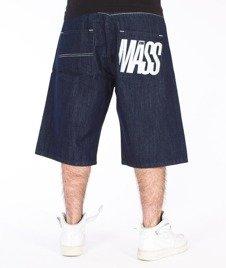 Mass-Outsized Shorts Baggy Dark Blue