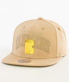Mitchell & Ness-LA Clippers Snapback EU942 Sand