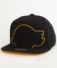 Mitchell & Ness-Los Angeles Lakers Cropped XL SB Snapback BH72QE