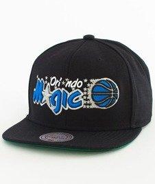 Mitchell & Ness-Orlando Magic Solid Team Colour Snapback NZ979 Black