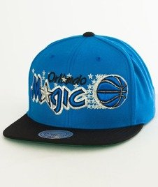Mitchell & Ness-Orlando Magic XL Logo Two Tone NJ16Z