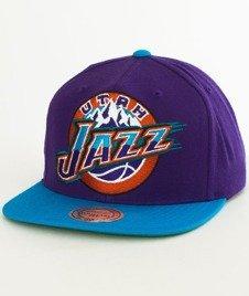 Mitchell & Ness-Utah Jazz XL Logo Two Tone NJ16Z