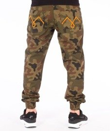 Moro Sport-M-Stripe Jogger Regular Spodnie Camo
