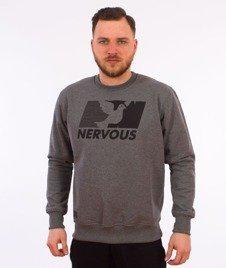 Nervous-Broadcast Bluza Szara