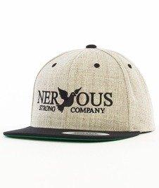 Nervous-Classic Snapback Szary/Czarny