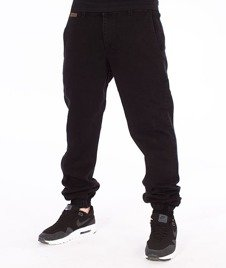 Nervous-Spodnie Sp17 Jogger Jeans Czarne
