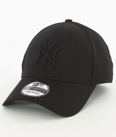New Era-New York Yankees Diamond Czapka z Daszkiem Czarna