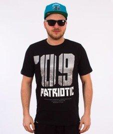 Patriotic-09 Bloki T-shirt Czarny