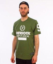 Patriotic-Laur T-shirt Zielony