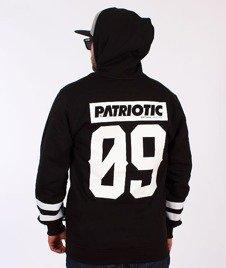 Patriotic-Mesh09 Bluza Kaptur Rozpinana Czarna