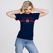 Patriotic P 09T-Shirt Damski Granatowy