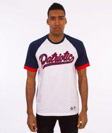 Patriotic-Rab Tag T-shirt Biały/Granatowy/Czerwony