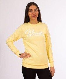 Patriotic-Spicy Bluza Damska Pudrowy Żółty