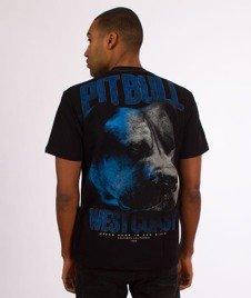 Pit Bull West Coast-Go Hard T-Shirt Czarny