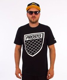 Prosto-Fence Shield T-Shirt Czarny