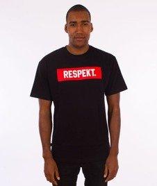 Respekt-Frame T-Shirt Czarny