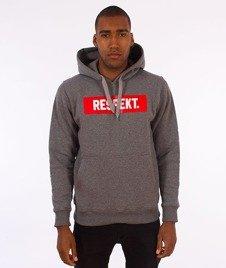 Respekt-Klasyk Frame Bluza z Kapturem Grafitowa